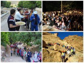 گزارش تصویری/برگزاری جشنواره نشاط و همایش کوهنوردی استانی به میزبانی فیض آباد راور(۲۳عکس)