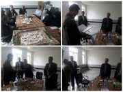 مراسم تودیع و معارفه رئیس دانشگاه پیام نور راور برگزار شد