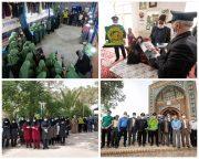 گزارش تصویری حضور خادمین و پرچم متبرک رضوی در راور(۳۵عکس)