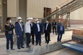 بازدید رئیس کل دادگستری استان کرمان از روند احداث کارخانه فولاد راور