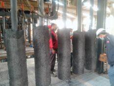 پس از سال ها چشم انتظاری، اولین محصول کارخانه فولاد راور (آهن اسفنجی) تولید شد