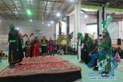 گزارش تصویری/اجرای مراسم تعزیه خوانی در راور(۱٧عکس)