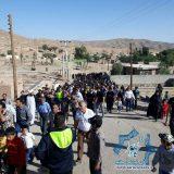 چهارمین همایش پیاده روی بخش کوهساران راور، روستای حرجند برگزار شد+تصاویر