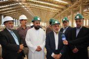 افتتاح کارخانه نورد فولاد راور تا پایان سال+تصاویر