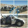 واژگونی خودروی سواری در جاده راور_کرمان یک کشته و ۵ مصدوم برجای گذاشت