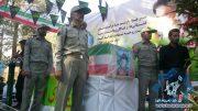 گزارش تصویری مراسم تشییع و تدفین محیط بان بسیجی شهید علی خواجویی در راور(٢۵عکس)