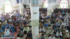 نوای روحبخش دعای عرفه در راور طنین انداز شد(۱۶عکس)