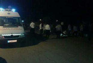در حادثه رانندگی جاده کاشان_قم طلبه جوان راوری جان باخت و ۴ سرنشین دیگر نیز به شدت مصدوم شدند