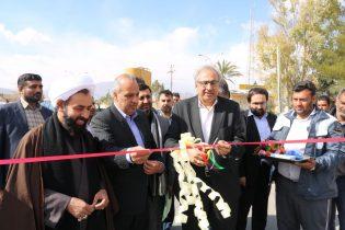 افتتاح چندین طرح عمرانی در شهرستان راور
