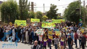 گزارش تصویری راهپیمایی روز قدس در شهر راور (٢٨ عکس)