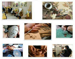 صنایعدستی فراموش شده راور احیا میشود/آموزش رایگان صنایعدستی به ۱۲۰ هنرجوی راوری