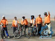 تیم دوچرخه سواری شهدای کارگری راور برای چهاردهمین سال متوالی عازم مشهد مقدس شد