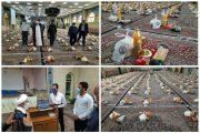 انجام مرحله دوم کمک های مومنانه در شهرستان راور با توزیع ۵۰۰ بسته معیشتی و ۳ هزار پرس غذا در عید غدیر +تصاویر
