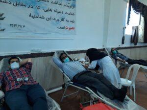 راوری ها ۶۰ هزار سیسی از خون خود را به بیماران نیازمند اهدا کردند
