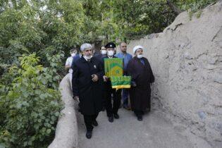 گزارش تصویری حضور خادمین و پرچم متبرک رضوی در شهر بابالرضا راور (۵۲عکس)