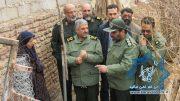 گزارش تصویری بازدید فرمانده کل سپاه پاسدارن از منطقه زلزله زده بخش کوهساران راور