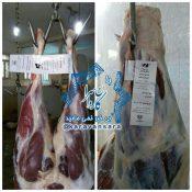 طرح لیبل گذاری لاشه های گوشت در کشتارگاه دام راور آغاز شد+تصاویر