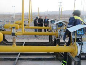 مشکل خط انتقال گاز شهرستان راور بدون قطعی گاز برای شهروندان برطرف شد