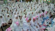 گزارش تصویری/مراسم جشن تکلیف غنچه های نوشکفته باغ ایمان(دانش آموزان دختر) در شهرستان راور