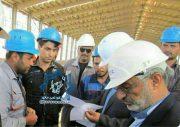 حضور پیمانکاران و کارگران غیربومی آنها در کارخانه فولاد راور موقتی است/نیروهای بومی منطقه راور باید در این کارخانه بکارگیری شوند